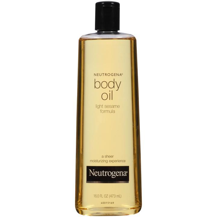 Neutrogena Body Oil Light SesameFormula